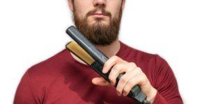 prepare hair straightener