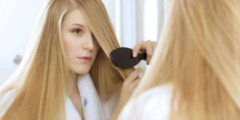 Bump your hair with a flat iron